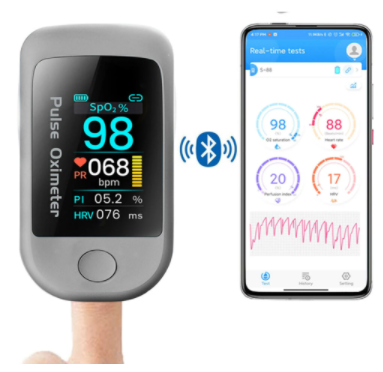 Pulsoxymetr – Boxym Smart Bluetooth 5.1 Pulse Oximeter