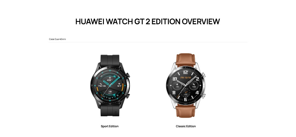 HUAWEI Watch GT 2 GPS  Sport  46mm Global Version